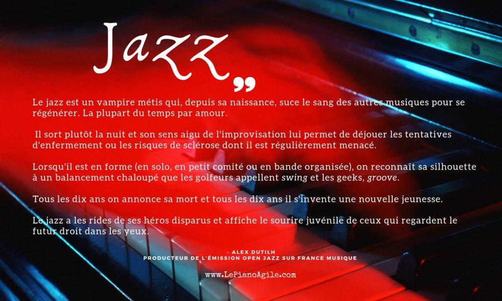Choisir le jazz pour apprendre les accords au piano
