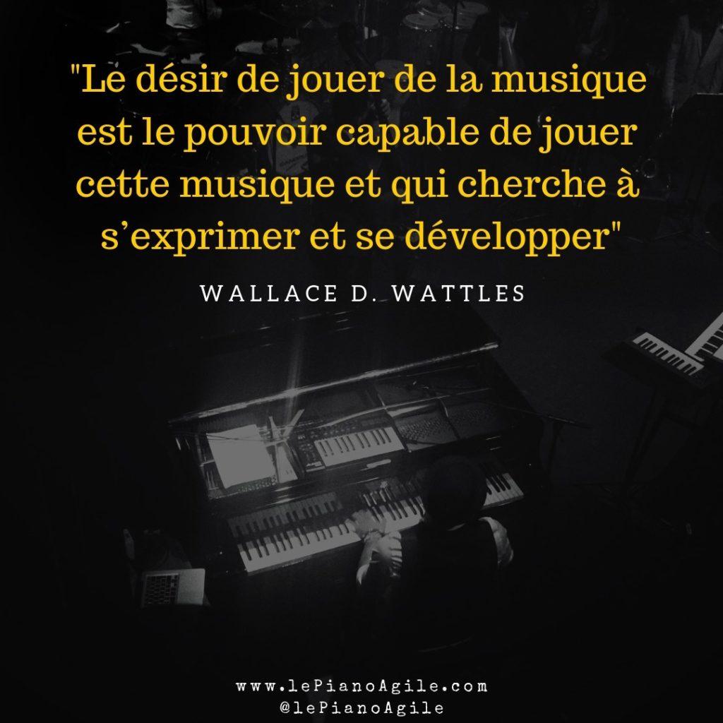 Désir et talent pour apprendre le piano #Piano #LePianoAgile #Jazz